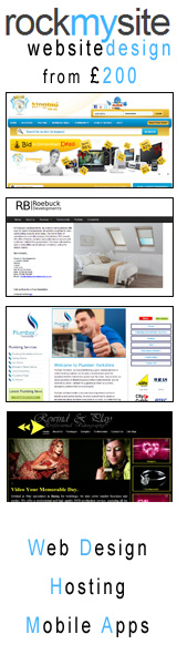 Rockmysite - website design